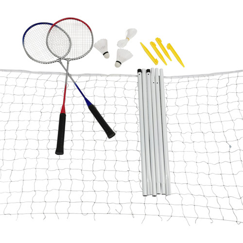 Badminton set with net