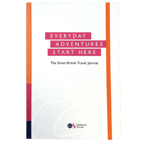 Ordnance Survey Great British Travel Journal