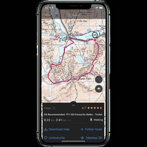 OS Maps Premium 3 years access