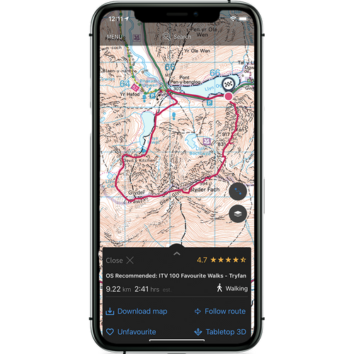 OS Maps Premium monthly subscription