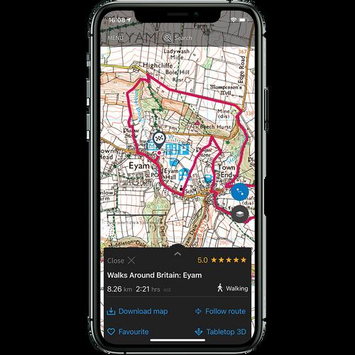 OS Maps Premium annual subscription