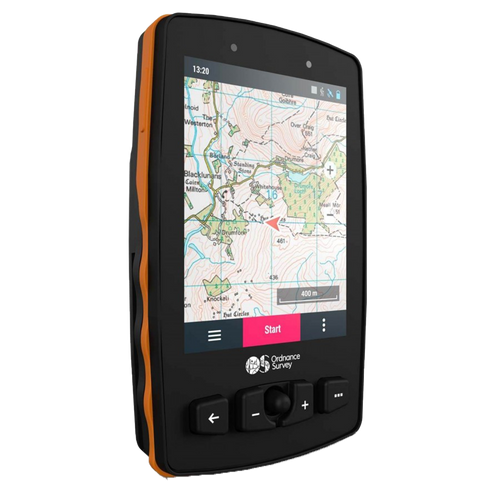 OS Aventura 2 GPS with 1:50k full GB mapping