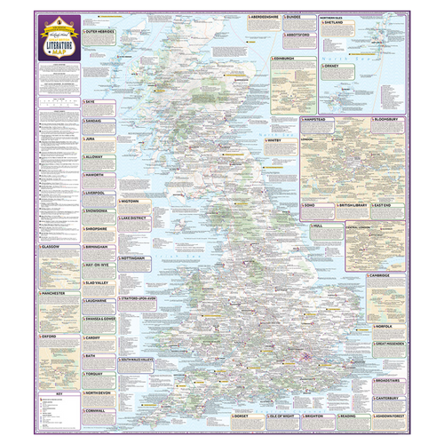 ST&G's Great British Literature Map