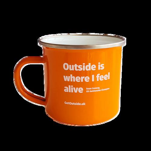 OS GetOutside Enamel Mug
