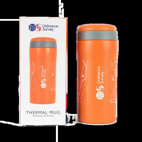 OS Thermal Mug Orange