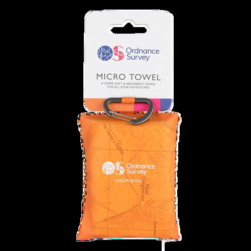 OS Snowdon Micro Towel