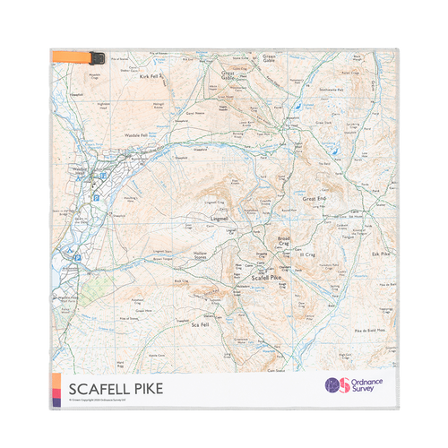 OS Scafell Pike Micro Towel