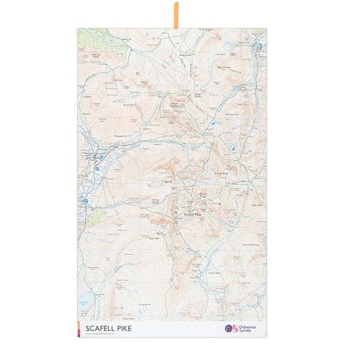 OS Scafell Pike Large Towel