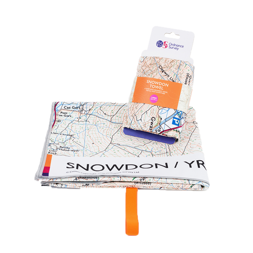 OS Snowdon Large Towel
