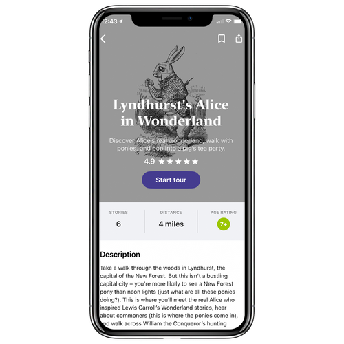 Lyndhurst's Alice in Wonderland Walking Tour