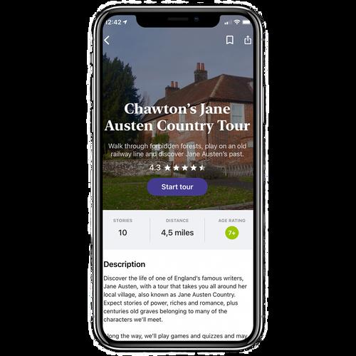 Chawton's Jane Austen Country Walking Tour