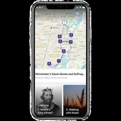 Winchester's Lost King & Keats Walking Tour