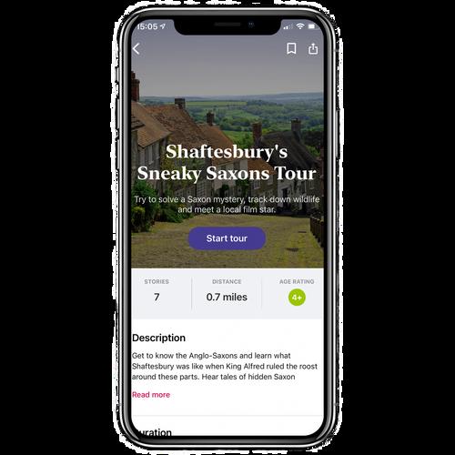 Shaftesbury's Sneaky Saxons Walking Tour