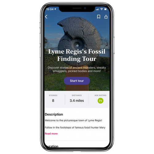 Lyme Regis's Fossil Finding Walking Tour