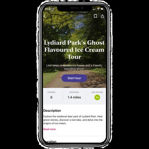 Lydiard Park's Ghost Flavoured Ice Cream Walking Tour