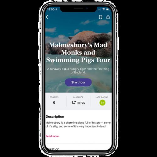 Malmesbury's Mad Monks and Swimming Pig Walking Tour