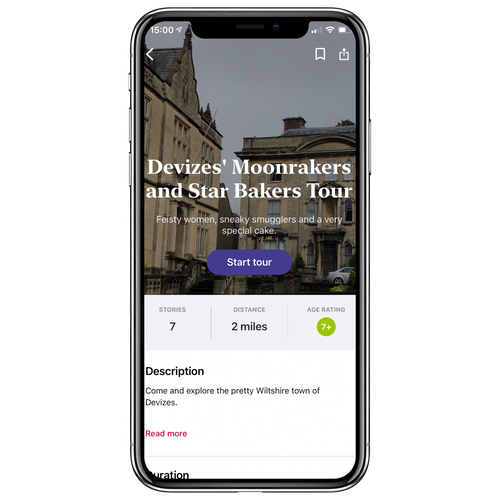 Devizes' Moonrakers and Star Bakers Walking Tour