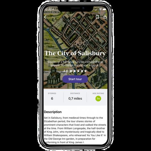 Secret Stories: The City of Salisbury Tour