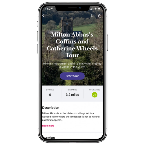 Milton Abbas's Coffins and Catherine Wheels Walking Tour