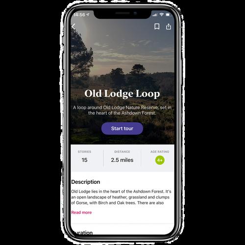 Old Lodge Loop Walking Tour