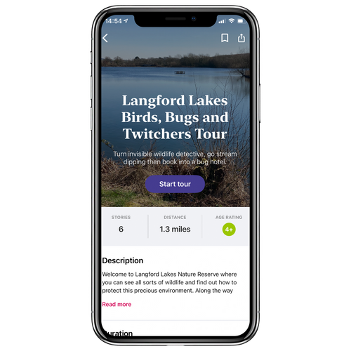 Langford Lakes Birds, Bugs and Twitchers Walking Tour
