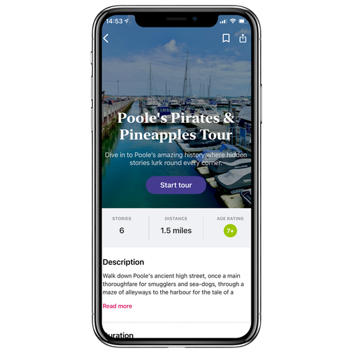 Poole's Pirates & Pineapples Walking Tour