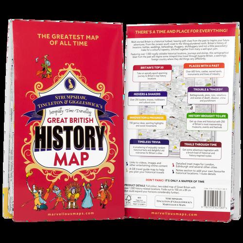 ST&G's Great British History Map