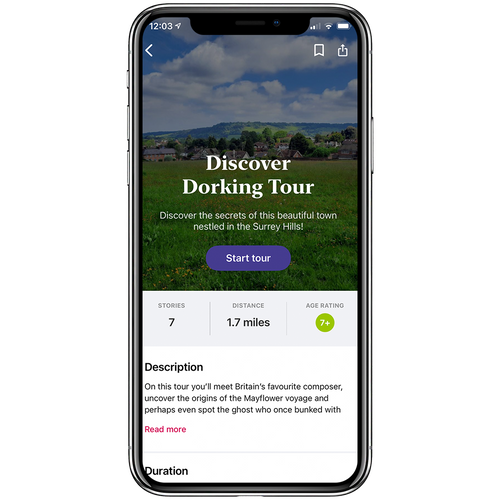 Discover Dorking Walking Tour