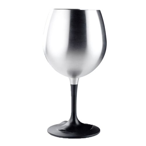 Glacier Stainless Nesting Wine Glass for Camping