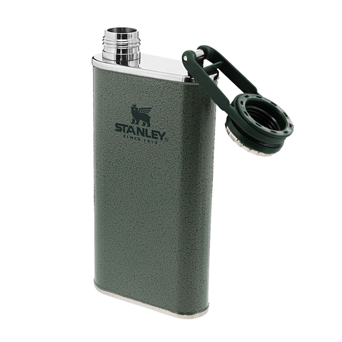 Stanley Classic Easy-Fill Wide Mouth Flask 0.23L - Hammertone Green