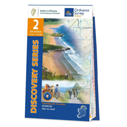Map of County Donegal: OSI Discovery 02