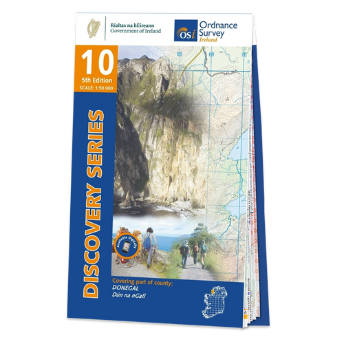 Map of County Donegal: OSI Discovery 10