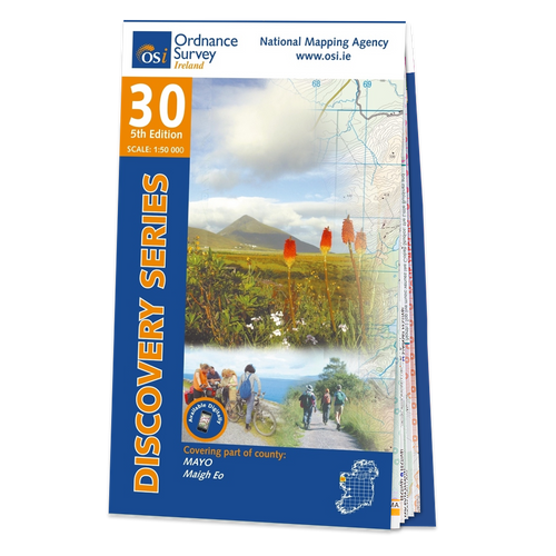 Map of County Mayo: OSI Discovery 30