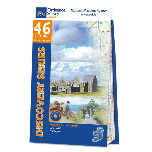Map of County Galway: OSI Discovery 46