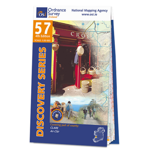 Map of County Clare: OSI Discovery 57