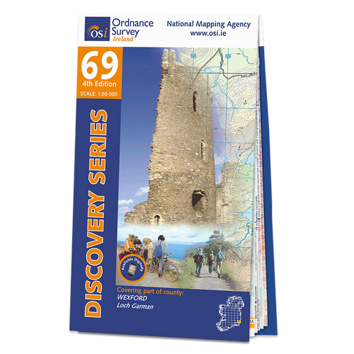 Map of County Wexford: OSI Discovery 69