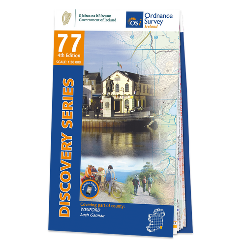 Map of County Wexford: OSI Discovery 77