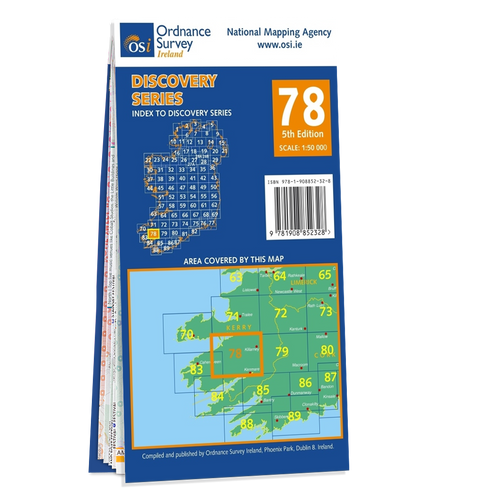 Map of County Kerry: OSI Discovery 78