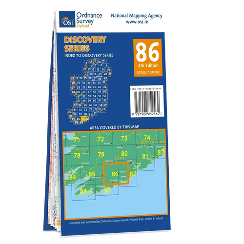 Map of County Cork: OSI Discovery 86