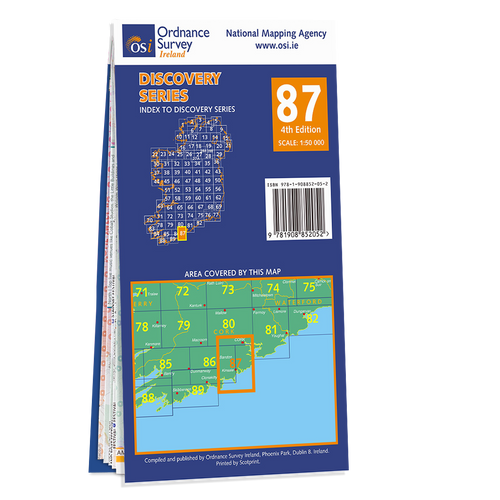 Map of County Cork: OSI Discovery 87