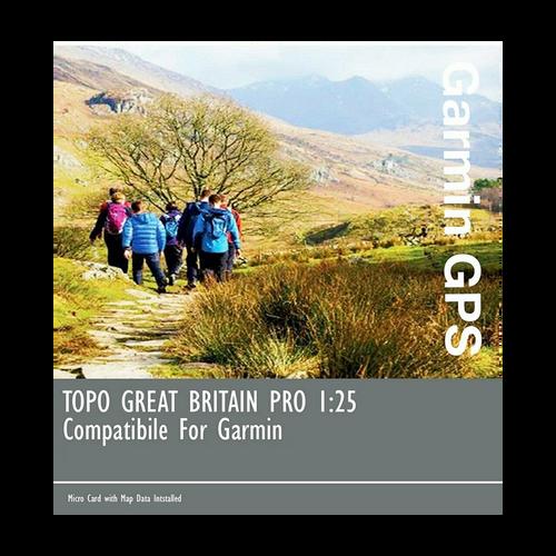 Garmin GB TOPO PRO - GB Full 1:25k