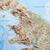 Dorrigo 3D British Isles relief map