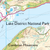 Map of The Lake District: North-eastern area