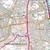 Map of Guildford & Farnham