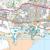 Map of Llanelli & Ammanford