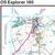 Map of Oxford - Witney & Woodstock