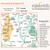 Map of Malvern Hills & Bredon Hill