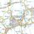 Map of King's Lynn, Downham Market & Swaffham