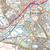 Map of Bradford & Huddersfield