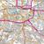 Map of Glasgow Paisley, Rutherglen & Kirkintilloch